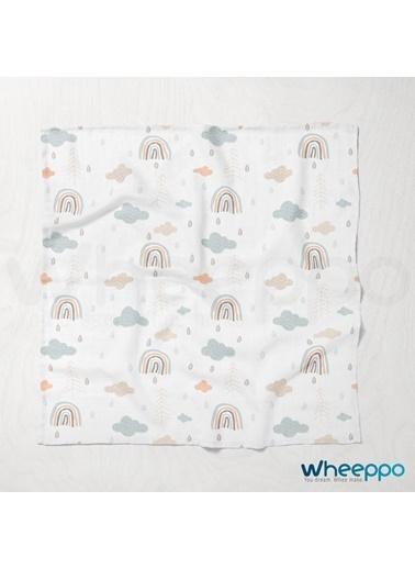 Wheeppo Gökkuşağı  Müslin Örtü  120*120 Cm Renkli